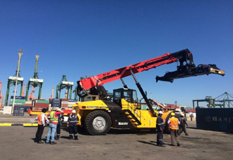 Sany Wins Massive Mobile Port Machinery Deal in Saudi Arabia Sany Port Machinery, a subsidiary of Sany Group, has won the order for 31 units of mobile port machinery.