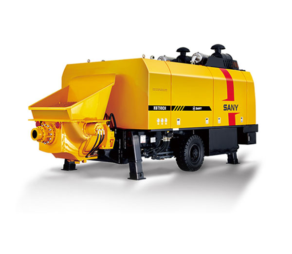 HBT9035CH-5M 90m³/h Ultra-high Pressure Trailer Pump