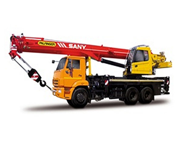 SPC250 25 tons General Chassis Crane