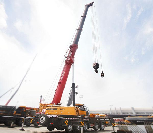 SANY STC1000C 100 Ton Truck Crane for Sale