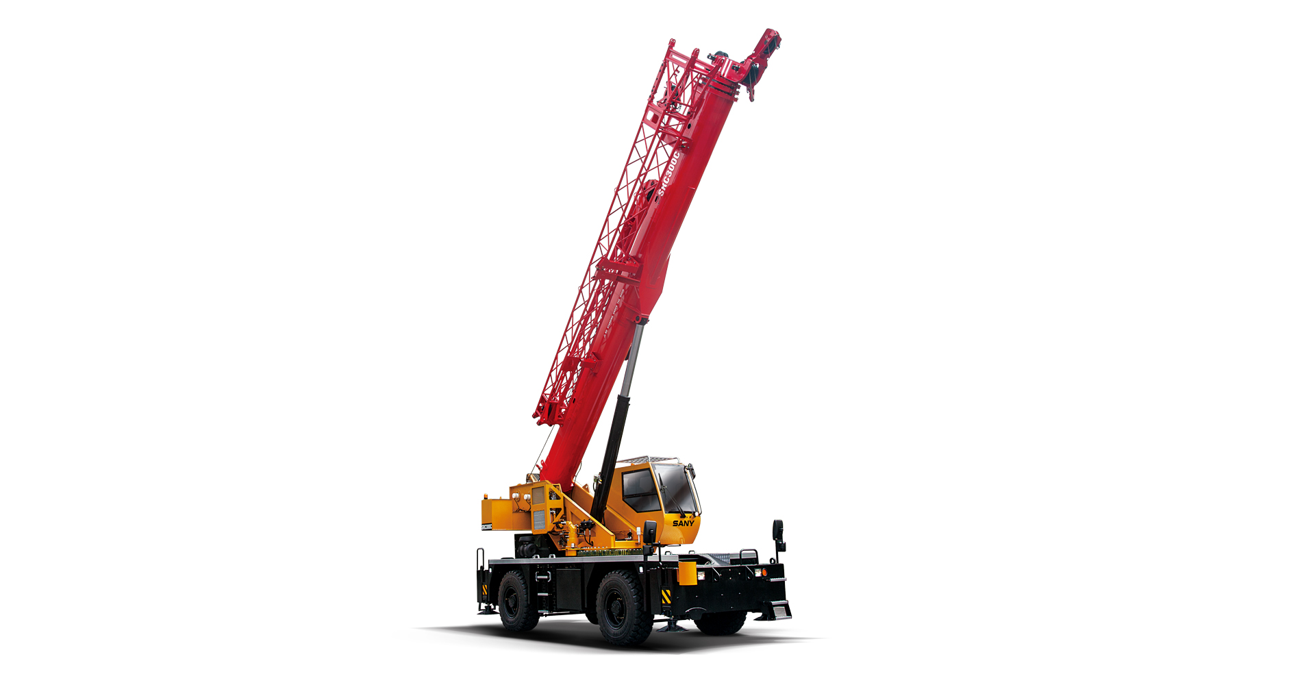 SRC300C 30 tons Rough Terrain Crane