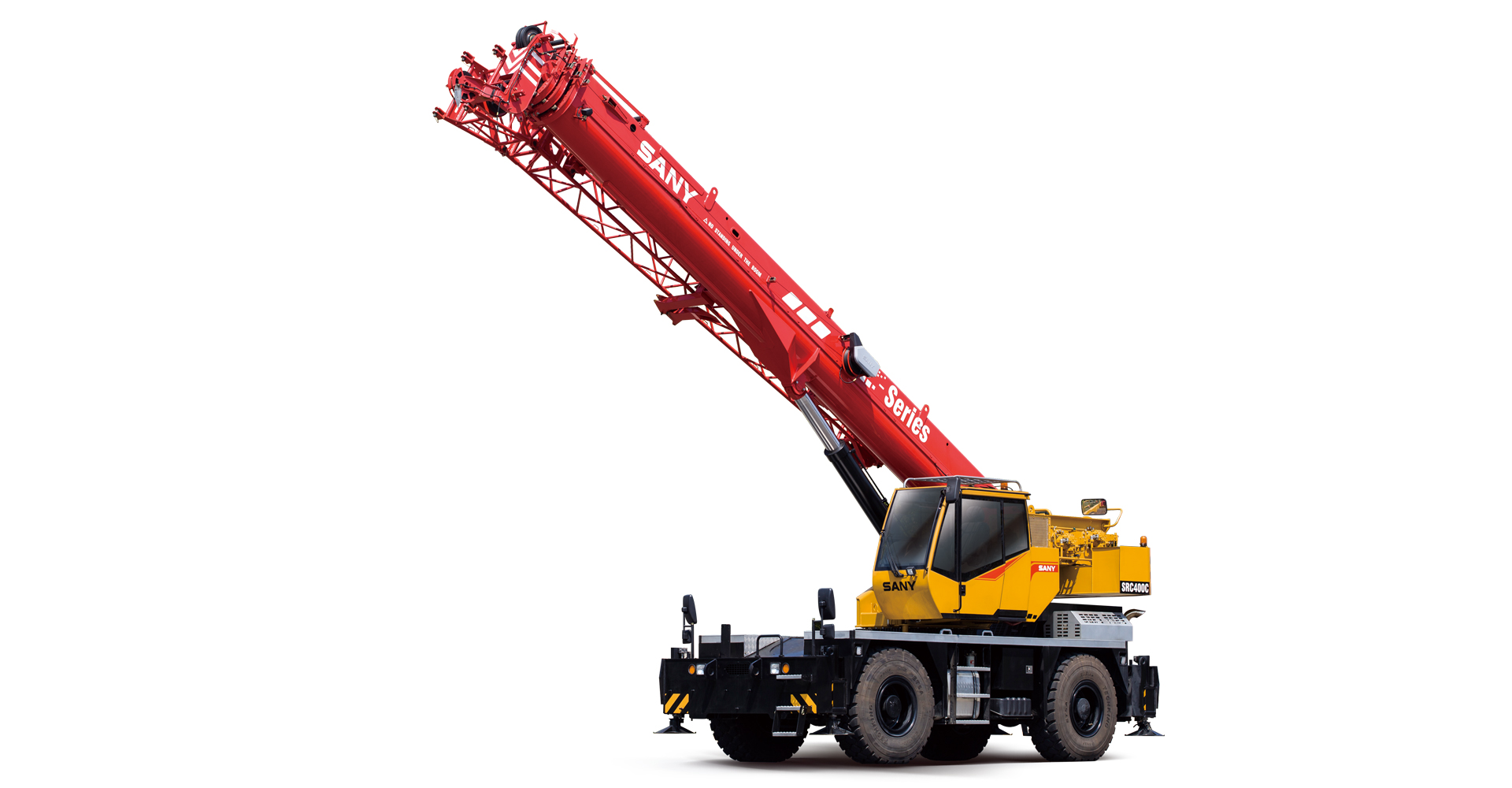 SRC400C 40 tons Rough Terrain Crane