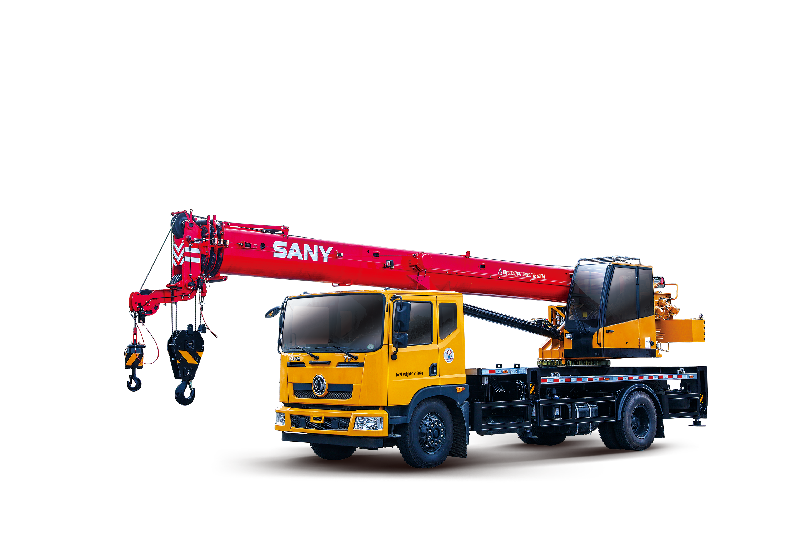 SPC120T 12 tons General Chassis Crane
