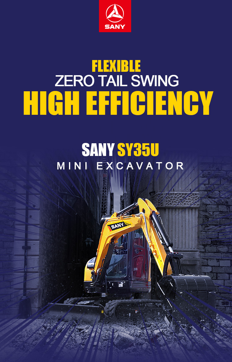 3 8 Ton Excavator for Sale | 3 5 Tonne Mini Digger | SANY