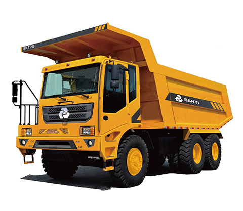 SKT90MT off-highway wide-body mining vehicle 60 tons off-highway wide-body mining vehicle