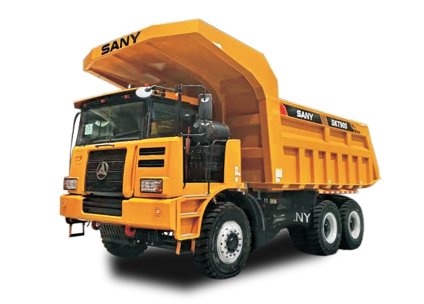 SKT90S Wide-Body Mining Truck (Right hand) 60 tons wide-body mining truck