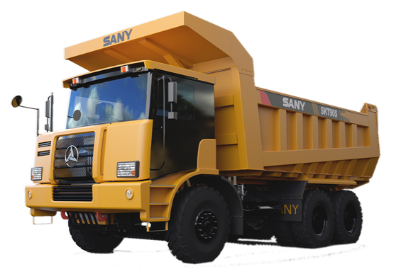 SKT90S Wide-Body Mining Truck(Left hand) 60 tons Wide-body Truck