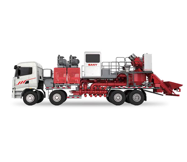100BBL Twin Engine & Pump Blender Truck