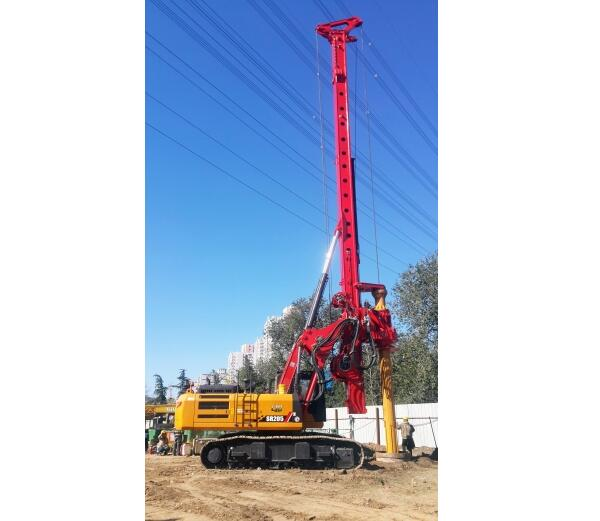 SANY SR205C10 Rotary Drilling Rig for Sale | Piling Machine